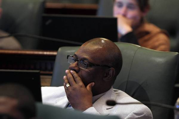Indicted state Rep. Derrick Smith, D-Chicago, could face expulsion from the House.