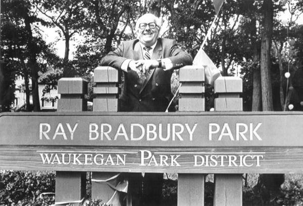 "A park is just one of the things in Waukegan named in honor of native son Ray Bradbury. The science fiction author played in the park as a child and wrote about it in his book ""Dandelion Wine."""