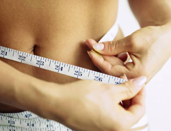 What foods can you decrease your waist line?