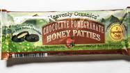 Heavenly Organics Chocolate Pomegranate Honey Patties