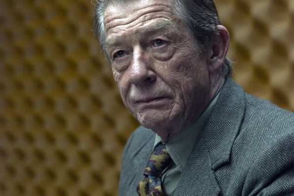 "John Hurt, who will appear in the new season of the Kirk Douglas Theatre, in last year's ""Tinker, Tailor, Soldier, Spy."""