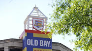 Old Bay is painting Baltimore blue and gold