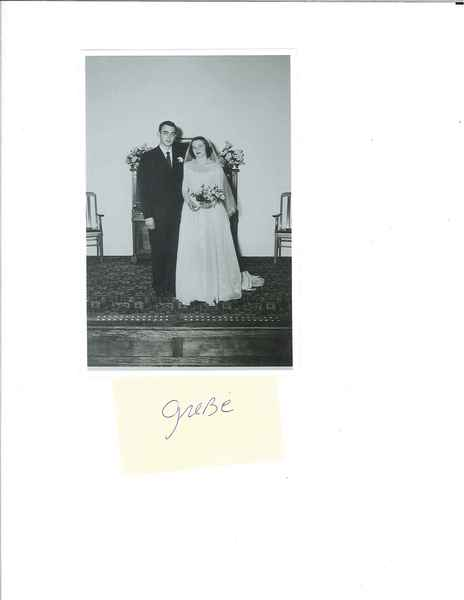 Dr. and Mrs. Kurt Grebe, 1952