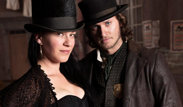 "Franka Potente and Tom Weston-Jones star in BBC America's ""Copper,"" coming in August."