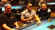Gulfstream Park wrapped up its 2012 World Series of Poker Challenge Sunday night, June 3. Miami's Adam Horowitz was the ultimate champion of the 50 man freeroll event that sends three players each year to the 2012 WSOP Main Event in Las Vegas, taking place in early July. Horowitz held off Axel Zengotita (2<sup>nd</sup> Place) and Frank Sassi (3<sup>rd</sup> Place) for bragging rights and the top spot. All three top finishers won seats to the 2012 WSOP.