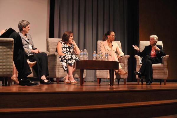 Christine Bork, Nora Dunn, Cheryle Jackson and Sheli Rosenberg at Chicago Forward.