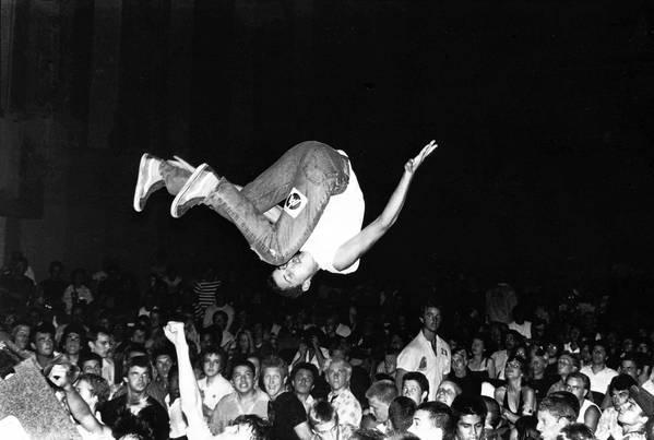 Flip Shot, Pasadena, Calif., 1981