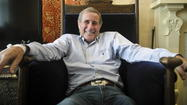 "Jim Dale guides his guests into the study in his Park Avenue home, pointing out memorabilia filling the walls and shelves: album covers from when he was a British pop star in the late '50s; pictures of him from the ""Carry On…"" comedy films in the ''60s; posters when he starred in ""Scapino"" and ""Barnum"" on Broadway; Grammys for his ""Harry Potter"" audio books."