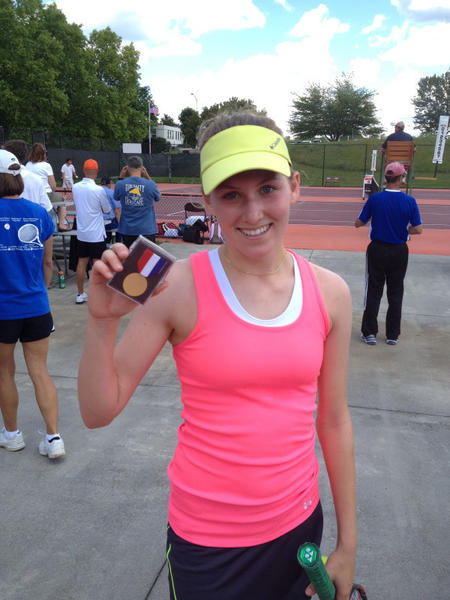 York sophomore Wiktoria Plawska took the 2012 state Group AA girls singles tennis crown, beating two opponents June 7 at Virginia Tech. She beat Cave Spring's Lauren Sledd 6-4, 6-1, then E.C. Glass' Julie Clark 6-3, 6-3.