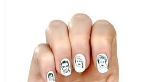 Ryan Gosling nail decals have Chicago tie