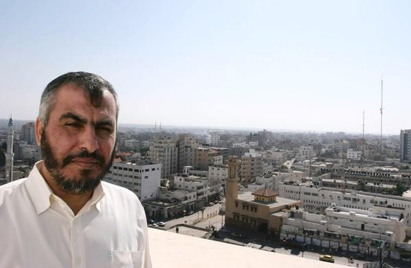 Senior Hamas leader Ghazi Hamad, seen in Gaza City in 2007, says a victory for the Muslim Brotherhood candidate in Egypt would make Israel vulnerable in the Middle East.
