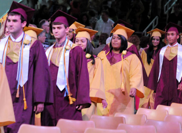 The 108th Whitehall High School graduation was held on Thursday at Stabler Arena in Bethlehem.