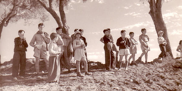 "Children from Kibbutz Hulda, 1948, as seen in ""Inventing Our Life: The Kibbutz Experience,"" a film by Toby Perl Freilich."