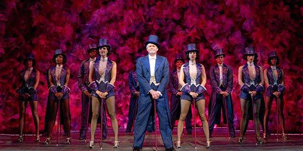 "The cast of the Kennedy Center production of ""Follies"" on Broadway."