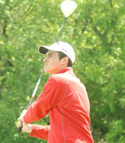 Bennett Langton, a Harbor Springs sophomore, is one of two area players to qualify for the Division IV state golf finals.