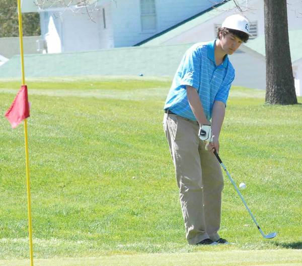 Petoskey junior Tyler Speigl posted an 81 Thursday at the Division II regional at The Pohl Cat in Mount Pleasant. Speigl and the Northmen finished third in the event, giving them a berth in the state finals June 15-16 in Big Rapids.