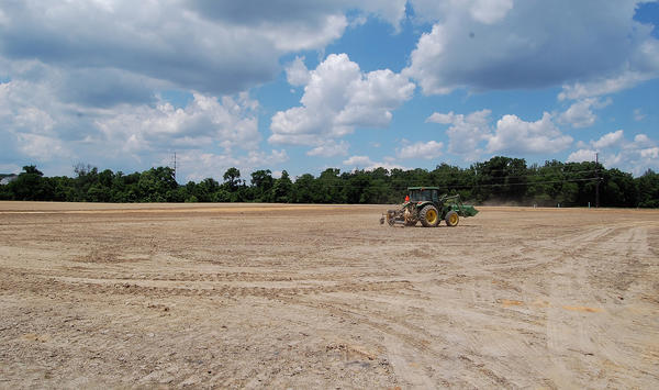 Site work is under way for Otterbein Church's new 800-seat church and community recreation park on Welty Road in Waynesboro, Pa.