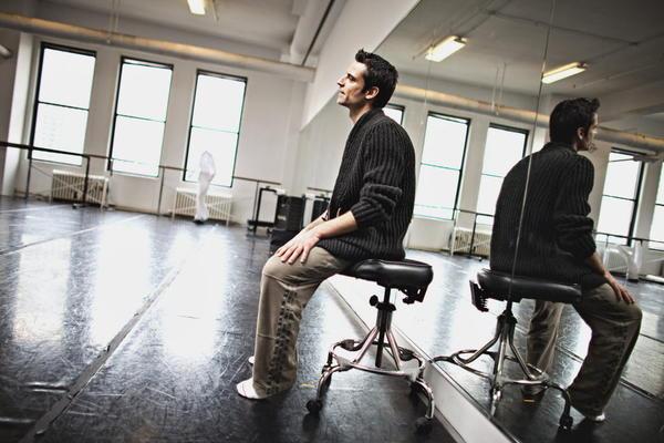 Gustavo Ramirez Sansano, artistic director of the Luna Negra Dance Theater.