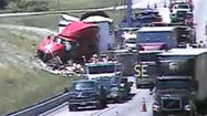 The tractor-trailer accident on Interstate 81 in Pulaski County has been cleared.