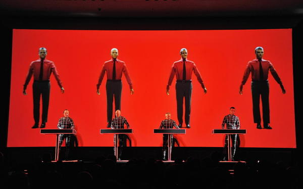 "German avant-electronic quartet Kraftwerk scores a pop hit with the entrancing ""Autobahn,"" and becomes the Beatles of electronic music."