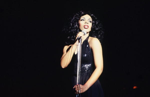 "<b>Donna Summer </b>and Giorgio Moroder define the disco era and set the course of dance music with the hypnotic, machine-driven ""I Feel Love."""