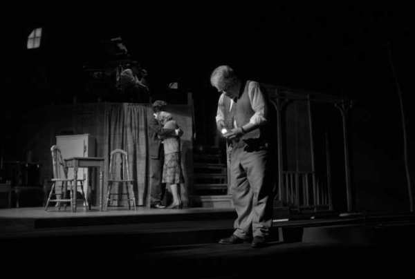 "A scene from the recent Broadway revival of Arthur Miller's ""Death of a Salesman"" at the Ethel Barrymore Theatre in New York."