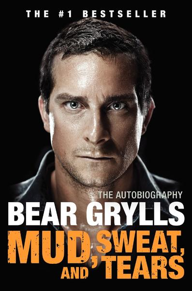 "The inspirational survival stories of Bear Grylls, outdoor adventurer and Discovery Channel's ""Man vs. Wild"" star, have made him a bona fide superhero. Who knew that the father of the man whose lifesaving stunts include taking shelter in a camel's carcass was a conservative member of the British Parliament? Just out and available on this side of the pond is Grylls' bestselling life story, ""Mud, Sweat, and Tears."" Wow both real and aspiring trailblazers with the wild read; $17 at Barnes & Noble or Amazon.com."