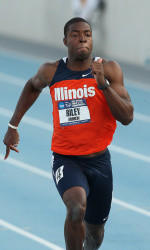 Illinois runner / hurdler Andrew Riley.