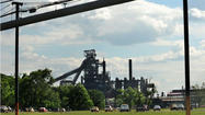 With blast furnace down, Sparrows Point layoffs begin