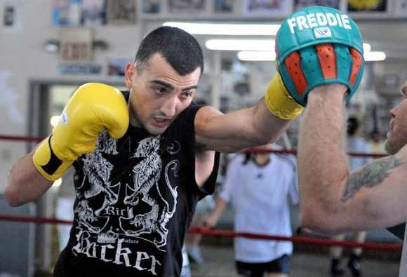 Glendale boxer Vanes Martirosyan's upcoming bout with Ryan Davis was moved from Texas to the Home Depot Center in Los Angeles.