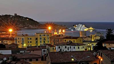 Life returning to normal on Giglio Island after Costa Concordia