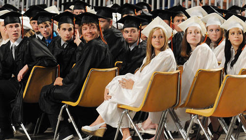 Northampton Area High School held it's 111th graduation on Friday at Stabler Arena in Bethlehem.