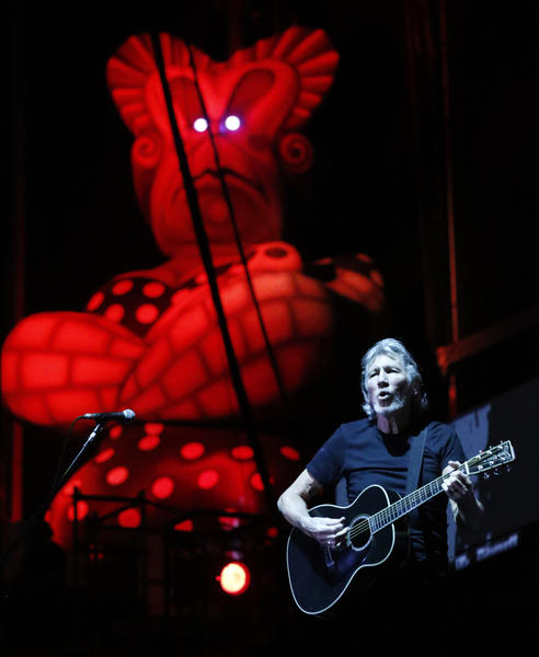 Roger Waters performs Friday, June 8, 2012 at Wrigley Field.