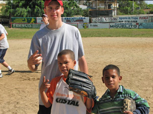 Troy Katterheinrich traveled to the Dominican Republic four times during his high school career on mission trips through Jupiter Christian School.