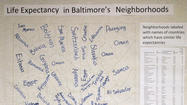 From Iraq to Switzerland: Baltimore map depicts global comparisons for neighborhood life expectancies