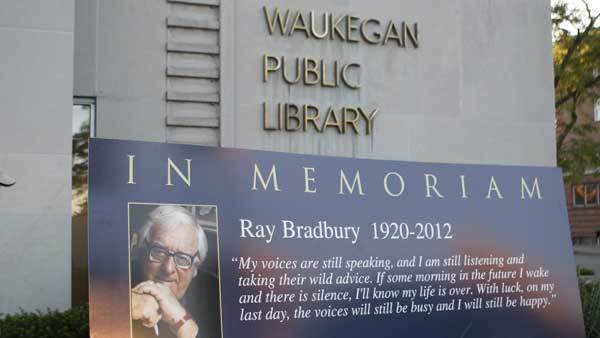 The Waukegan Public Library shown on June 6, 2012.