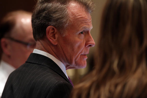House Speaker Michael Madigan, D-Chicago, in May 2012.