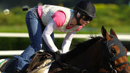 Rosie Napravnik hoping to follow in idol's path at Belmont