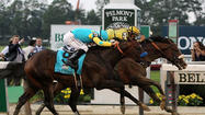 <strong>Elmont, NY</strong> – Paynter stayed where he was, a few feet off the rail, charging toward the finish.