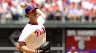 It doesn't matter if Cole Hamels is due up next in the rotation or not for another three days.