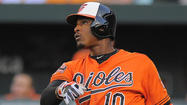 Orioles manager Buck Showalter said he likes having the game in Adam Jones' hands.