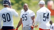 SACRAMENTO -- Lance Briggs had quite a workout even without being at Halas Hall.