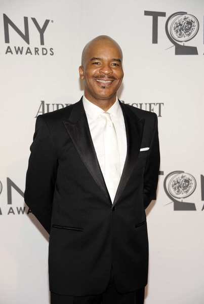Tony Awards 2012 | Red carpet: David Alan Grier is nominated for performance by an actor in a featured role in a musical for The Gershwins Porgy and Bess.
