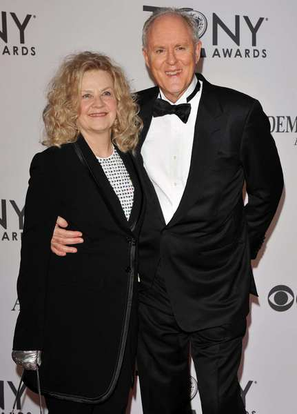 Tony Awards 2012 | Red carpet: Actor John Lithgow and his wife Mary Yeager.