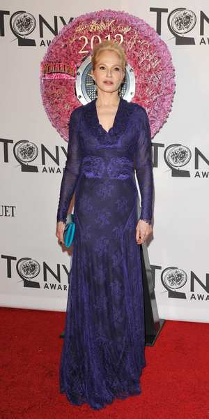 Tony Awards 2012 | Red carpet: Actress Ellen Barkin.
