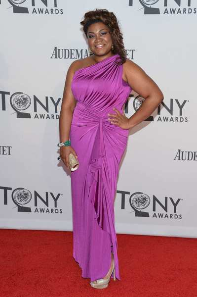 "Da'Vine Joy Randolph of ""Ghost the Musical"" is nominated for actress in a featured role in a musical."