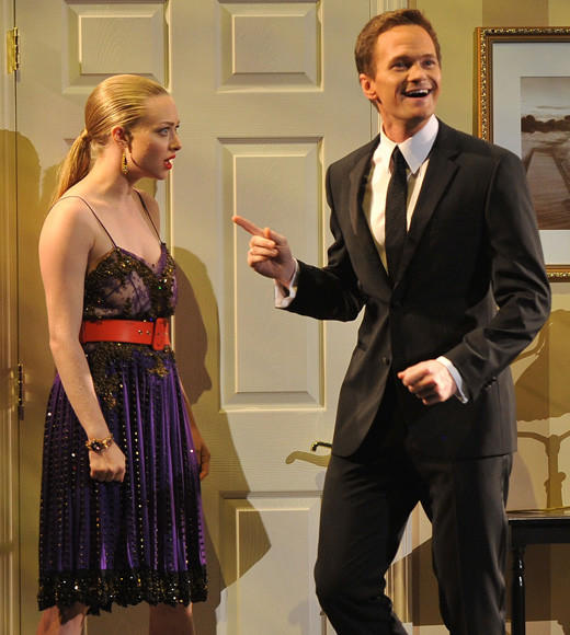 Tony Awards 2012: The Best and Worst moments: For Neil Patrick Harris third time hosting the show, he didnt fix what wasnt broken. He kicked off the night with a fun song-and-dance routine, What If Life Were More Like Theatre, musing on the benefits of backup dancers and weather-on-cue. Amanda Seyfried popped in for a quick Mamma Mia reference, and Patti LaPone joined NPH for a fun bit about how great it would be to have intermissions in real life. Our favorite part was when his understudy, Jesse Tyler Ferguson, popped in -- until NPH screamed, GO AWAY! YOU THREATEN ME!   -- Carina Adly MacKenzie, Zap2it