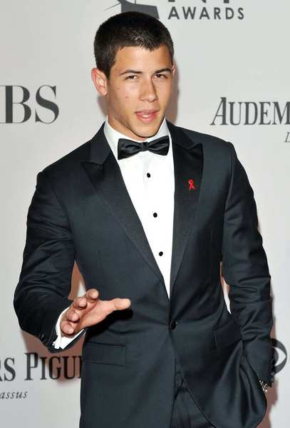 Tony Awards 2012 | Red carpet: Actor and presenter Nick Jonas.