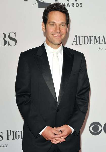Tony Awards 2012 | Red carpet: Actor and presenter Paul Rudd.