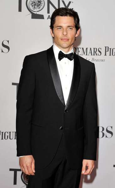 Tony Awards 2012 | Red carpet: Actor and presenter James Marsden.